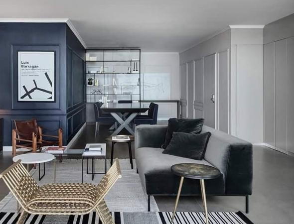 שטיחי מתריב- שטיח שחור לבן