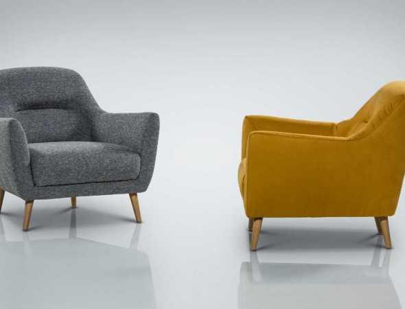 כורסא מרווחת ונוחה במבחר גוונים בהתאמה אישית.