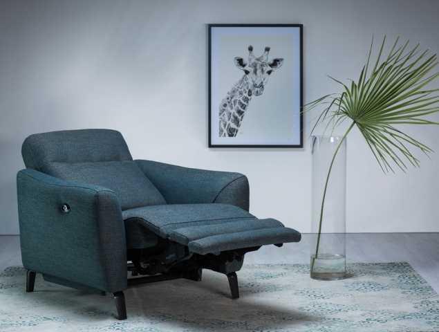 כורסת טלוויזיה חשמלית המקנה תמיכה אידיאלית וניתנת לכיוונון למספר מצבי ישיבה ושכיבה.