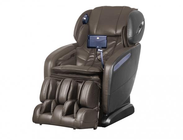 כורסת עיסוי מסאז ושיאצו לעיסוי, בכורסא 12 תכונות עיסוי.בעלת תנוחת zero-gravity להפחתת הלחץ על הגב בכורסא זוג רמקולים עם חיבור Bluetooth.
