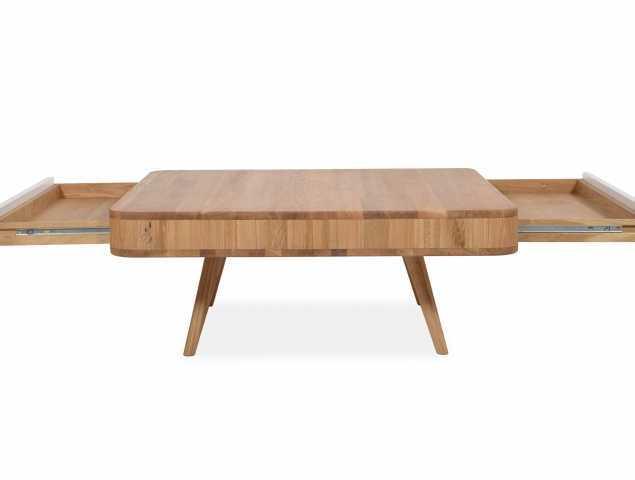 שולחן סלון בעל מגירה נסתרת
