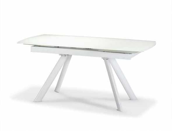 שולחן אוכל בעל פלטה זכוכית 10 מ