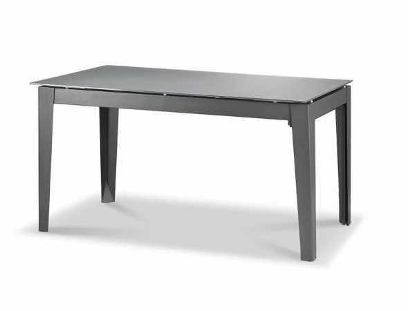 שולחן אוכל בעל פלטה זכוכית 8 מ