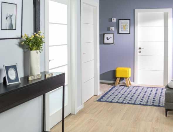 דלת פנים מסדרת טופ -הסדרה העמידה למים מבית רב-בריח.