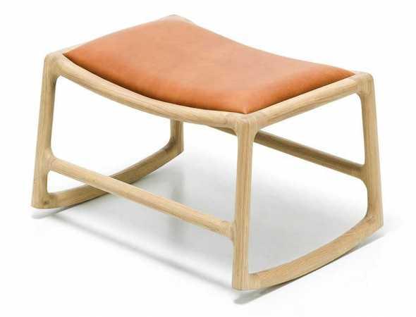 הדום מבית מותג העיצוב הבוסני Gazzda, זהו מוצר המשלים את כסא הנוח DEDO, הכסא וההדום ארגונומיים, חזקים, קלים ומעוצבים
