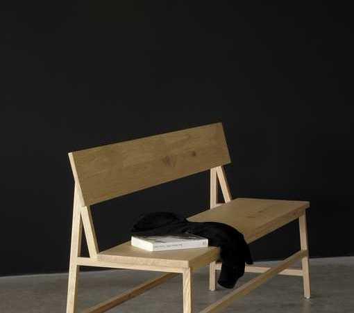 ספסל מעוצב עץ