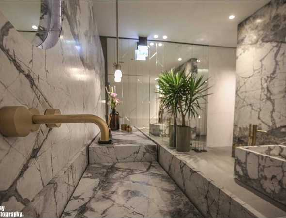מערכת אמבט וכיורים בנויים