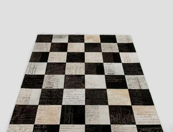 שטיח עור יוקרתי בעיצוב מודרני