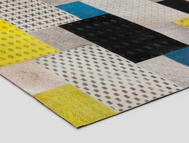 שטיח פאצ'ים איכותי מעור, שטיח מרהיב ביופיו המעניק מראה יוקרתי במיוחד.