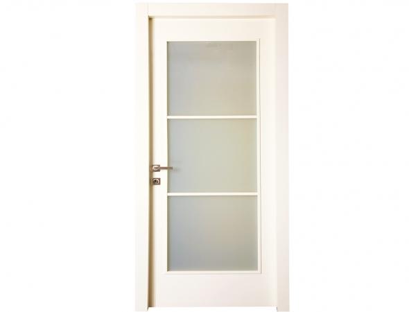 דלת פנים מסדרת טופ -הסדרה העמידה למים מבית רב-בריח בשילוב זכוכית