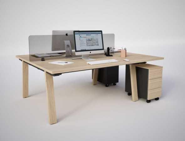 שולחן משרדי עץ