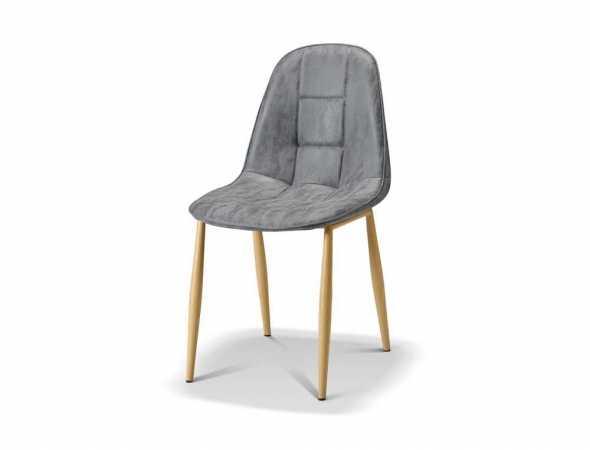 כסא בריפוד דמוי עור, קיים במגוון צבעים