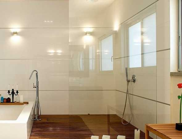 מקלחון חזית קבוע