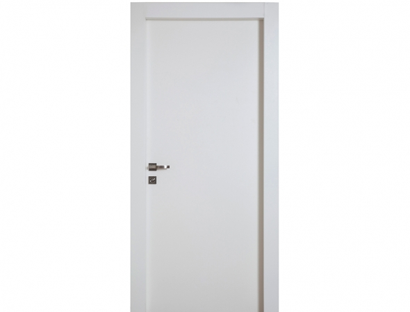 דלת מדגם מטריקס בצבע לבן מקולקציית יוניק קלאסיק עמידה במים