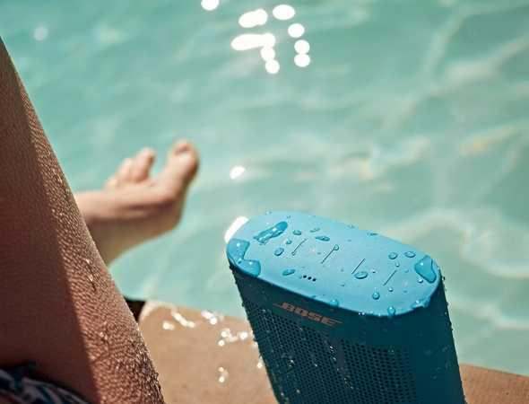 רמקול אלחוטי נטען עם חיבור לBluetooth, עמיד במים וקיים במגוון צבעים