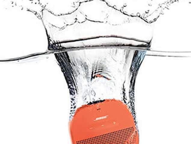 רמקול נייד נטען עם חיבור לBluetooth, עמיד במים וקיים במגוון צבעים