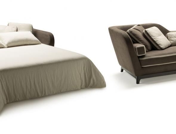 ספה ניפתחת המתאפיינת בקווים מודרניים.  שילוב של מראה עיצובי, ישיבה נוחה ושינה איכותית.