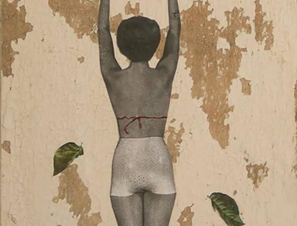 אומנות מיקס מדיה של שילה אונגר