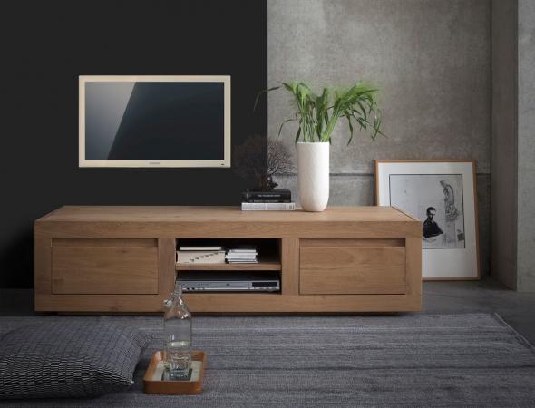 מזנון טלוויזיה מעץ