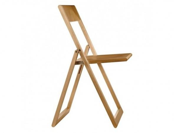 כסא מתקפל מעץ