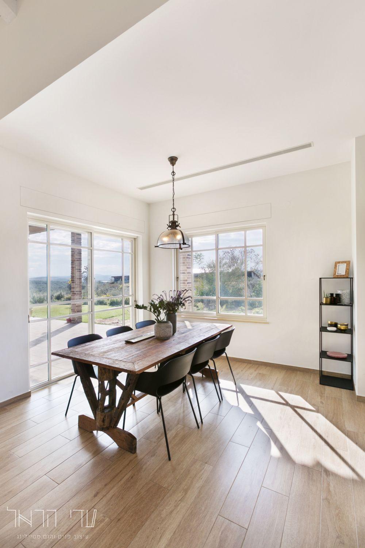 בית בעיצוב עדי הראל- פינת האוכל