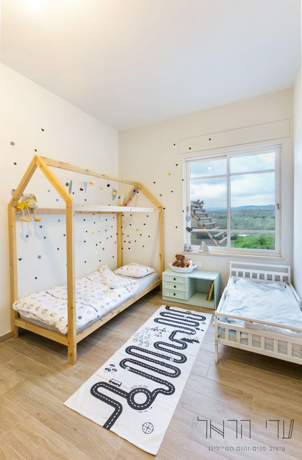 בית בעיצוב עדי הראל- חדר ילדים
