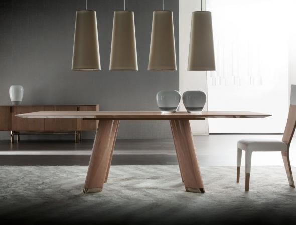 trend round שולחן