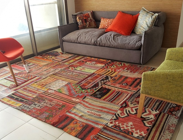 שטיח טלאים קילים
