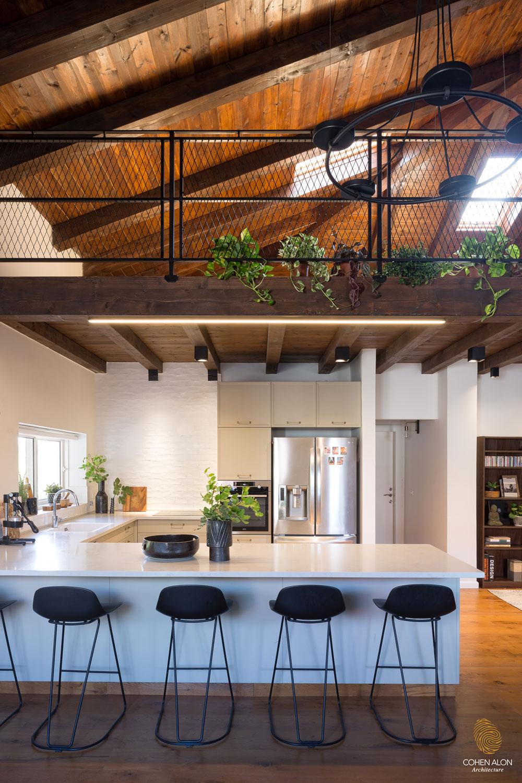 מטבח בתים מבפנים בית בקומה אחת