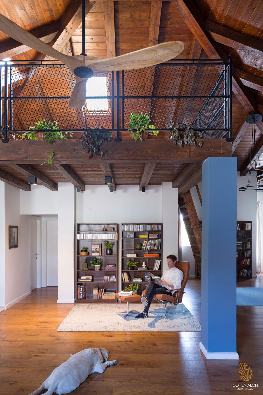 בתים מבפנים בית בקומה אחת